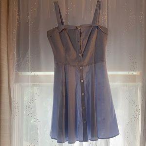 Light blue/white Striped dress